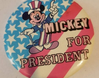 Image result for cartoon picture of mickey mouse for president