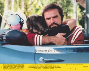 abb6d1970e6 The End Burt Reynolds Sally Fields 8x10 Lobby Card 4