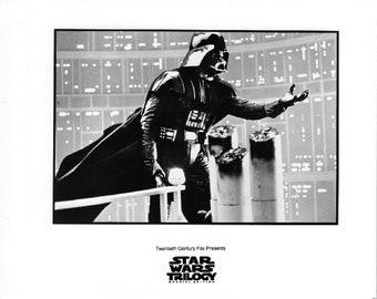 Star Wars Trilogy Darth Vadar 8x10 Photo