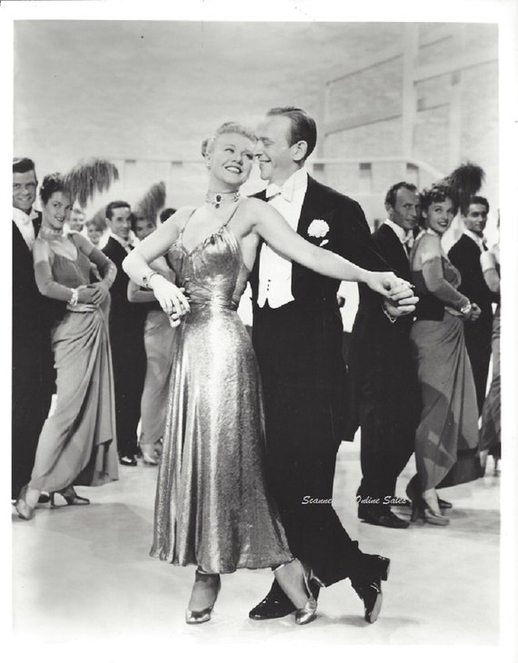 Ginger Rogers Fred Astaire Dance The Night Away 8x10 Photo Etsy