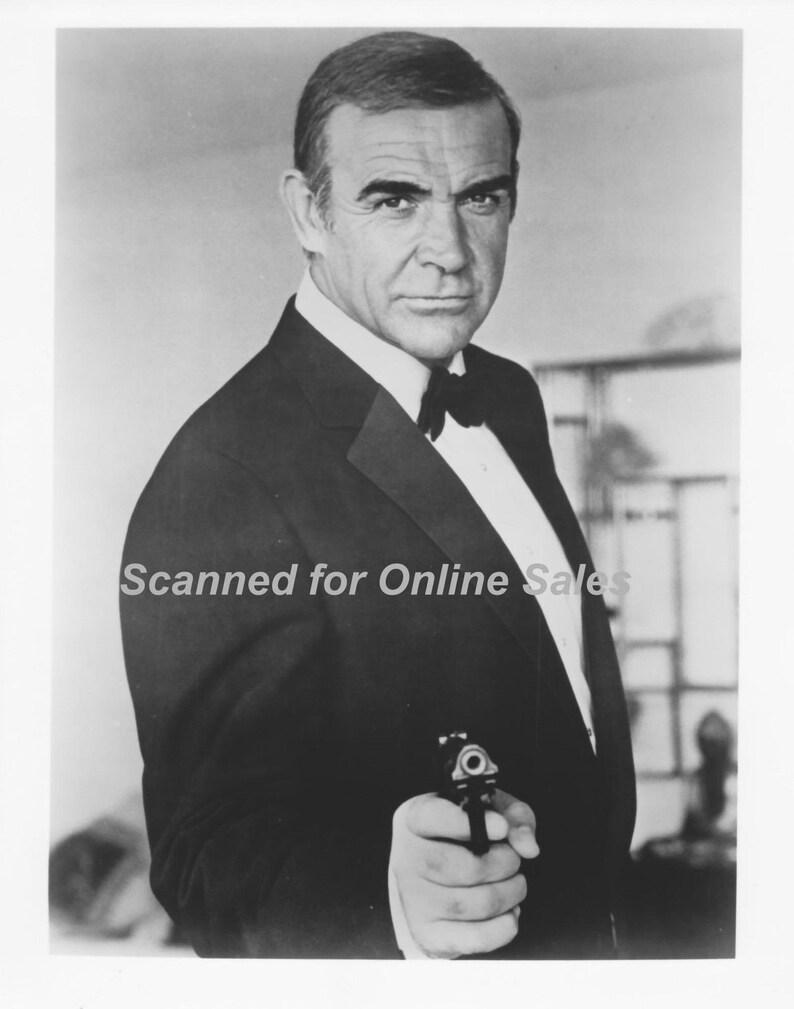 James Bond 007 Sean Connery Name is Bond 8x10 Photo