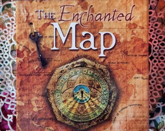 Enchanted Map 1 question 3 cards