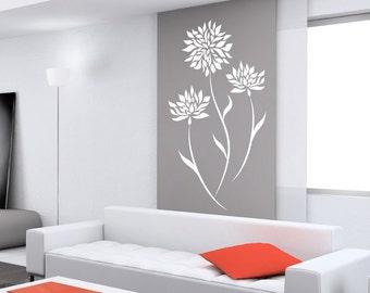 Adesivi murali per le camere da letto Decal albero ventoso