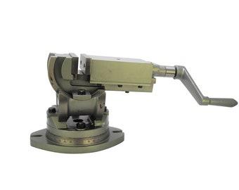 "H4413 Proops 2/""// 50mm Jaw Width 3 Way Swivel Tilt Angle Milling Machine Vice"