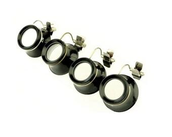 Proops Eyeglass Loupe Set x 4 Glasses, Clip On, 2x , 2.5x, 3x, 4x Magnifier (V5405). Free UK Postage