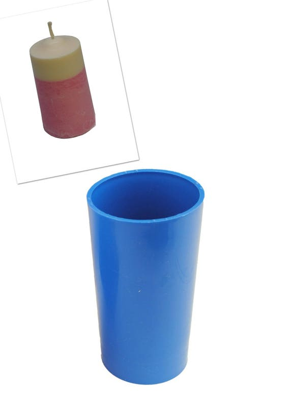 "Proops Seamless Candle Mould Pillar Shaped 4 1//2/"" Long 2/"" Dia Craft UK Mde S7260"