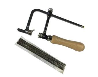 Proops Set of 144 Saw Blades Size Grade 1/0 & Adjustable Piercing Saw Frame (J1435). Free UK Postage