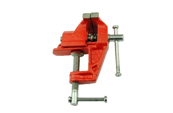 25mm Mini Baby Vice Clamp Workbench Fixed Base Craft And Model Makers Hobby Work