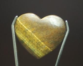 6780160f8 42 carats tiger eye heart