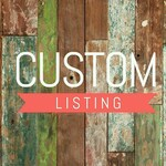 Custom listing for Stacey S.