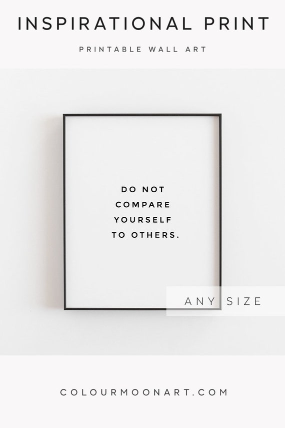 Inspirational Quote Printable Motivational Quotes Etsy