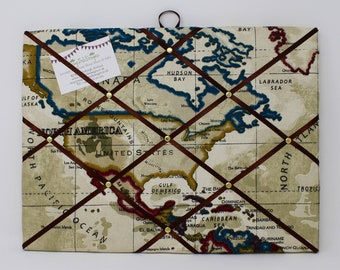 Boys pinboard etsy fabric noticeboard map pin board map fabric teenage boy gifts pin board boys pin board student gifts traveller gifts world map gumiabroncs Choice Image