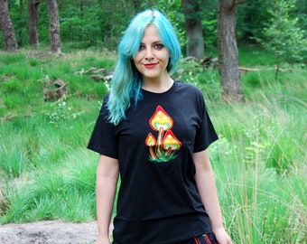 Mushrooms T-Shirt UV Active Unisex