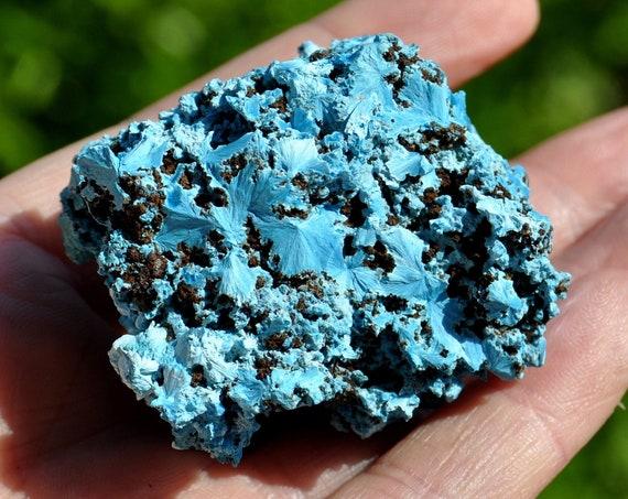 Raw Shattuckite cluster, Sky Blue Rare Mineral Specimen  - 65 gram - Free Shipment