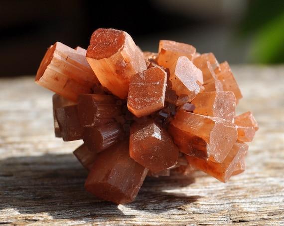 Raw Aragonite Star Cluster, Sputnik Crystal, 26 grams - 0.92 Oz  FREE Shipping !