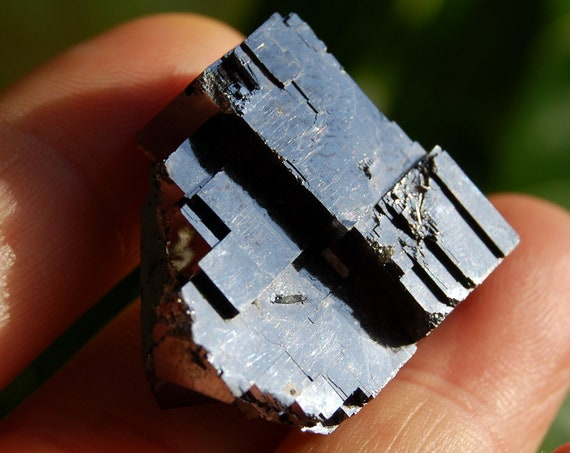 Raw Galena Crystal Cluster from Bulgaria - 30 gram, natural terminated
