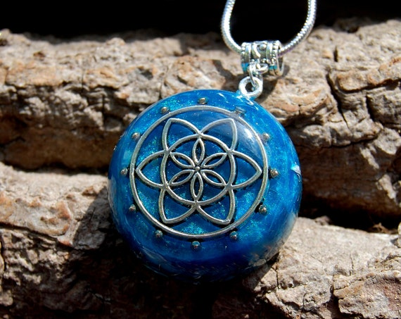Real Orgonite® Pendant Necklace Necklace, Unisex