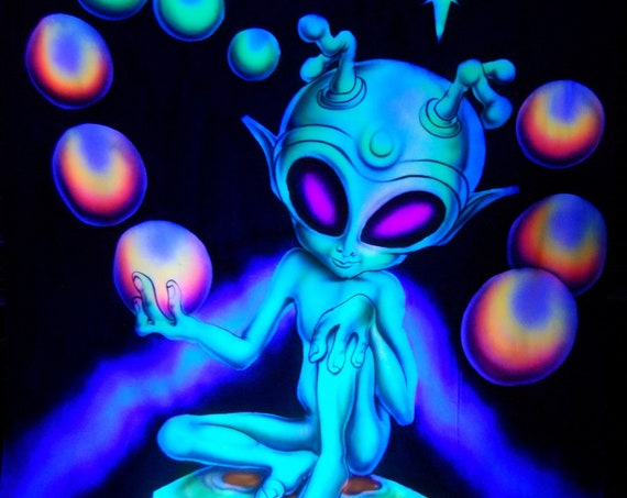 AIRBRUSH UV Alien