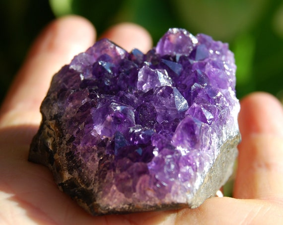 Uruguay Amethyst Crystal Cluster - 60 grams