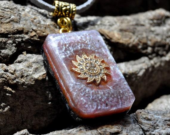 Orgonite® Pendant Necklace, EMF Protection, Unisex