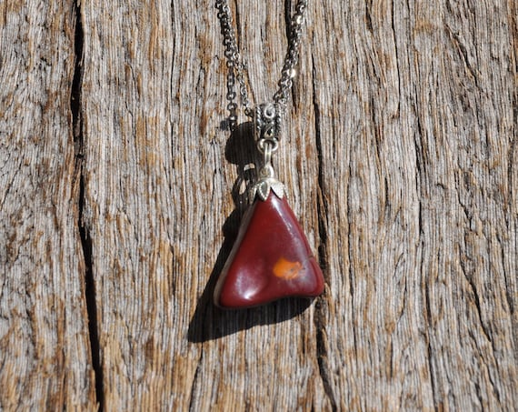 Mookaite Jasper Necklace  - UNISEX Free Shipping