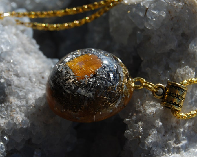 Tiger Eye Orgone Orgonite® Pendant
