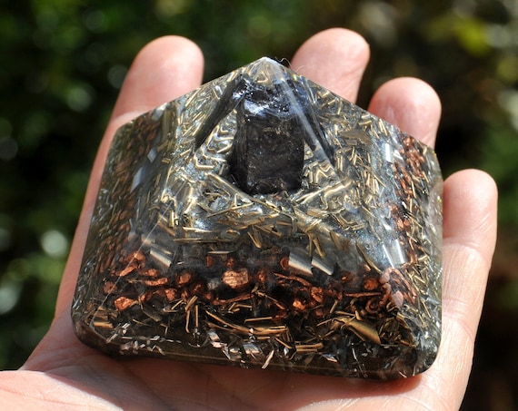 EMF Protection Orgonite® Pyramid with Elite Shungite - Free Shipping !