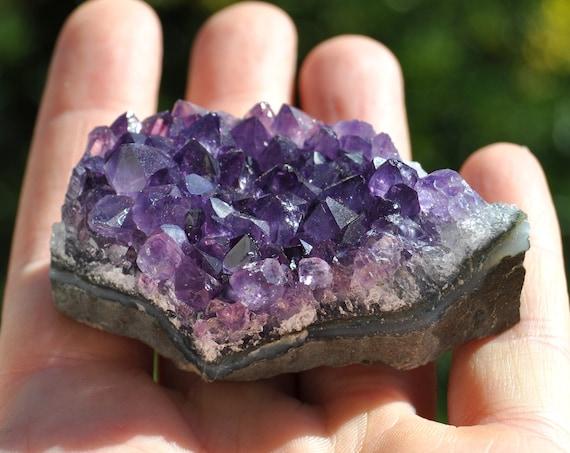 Uruguay Amethyst Crystal Cluster - 71 grams