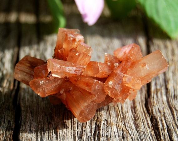 Raw Aragonite Star Cluster, Sputnik Crystal, 20 grams -  FREE Shipping !