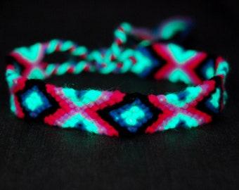 Friendship Bracelets Woven Blacklight UV