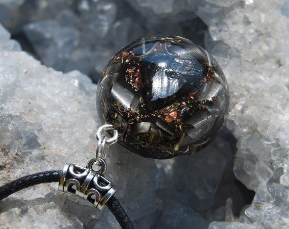 Elite Shungite Orgonite® Necklace Unisex, Small Pendant