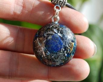 Lapis Lazuli Orgonite® Pendant Small