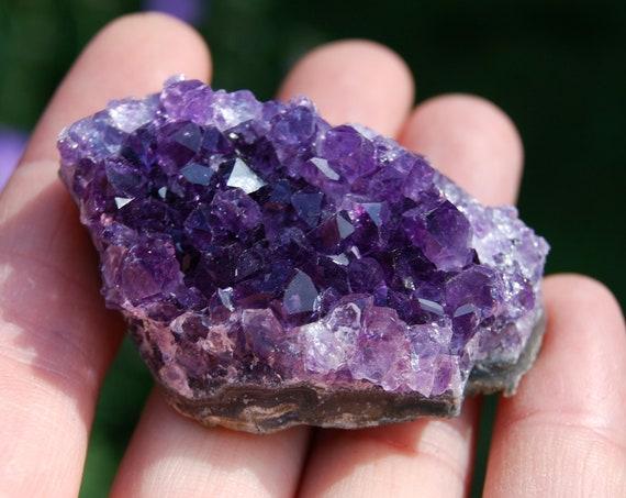 Uruguay Amethyst Crystal Cluster - 43 grams