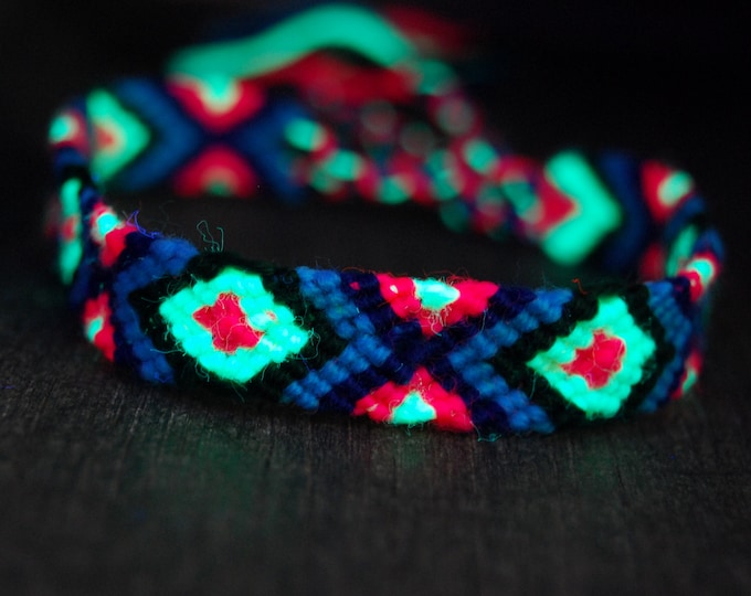 Cotton Wool Handwoven Bracelets Identical Colorful