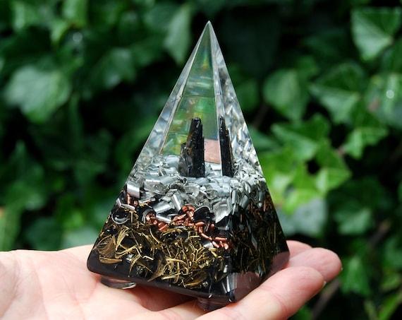 Elite Shungite Orgonite® Pyramid Black - Free Shipping !