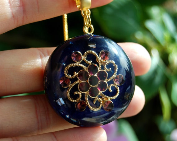 Crystal Orgonite® Orgone Necklace Pendant - FREE Shipping !