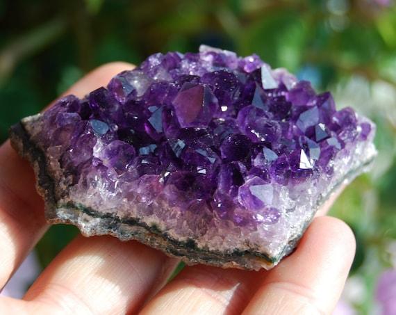 Uruguay Amethyst Crystal Cluster - 74 grams