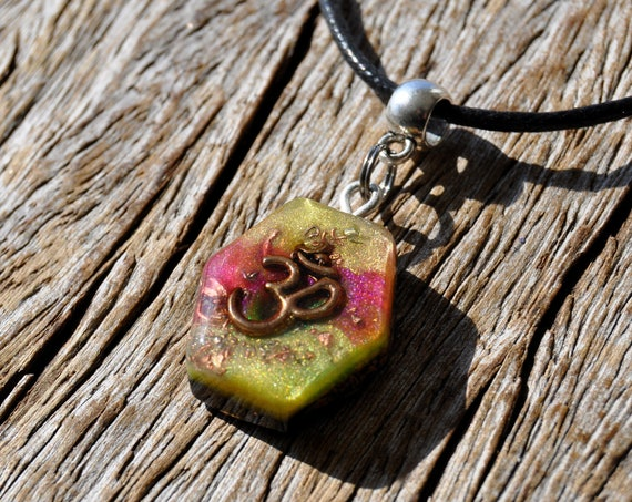 Aum Symbol Orgonite® Pendant Necklace