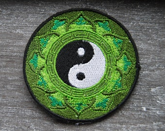 Ying Yang Patch Embroidery