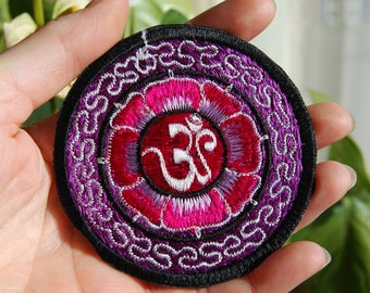 AUM Patch Embroidered Sew on Applique