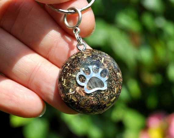 PET Orgonite® Charm PAW Tag Key Chain for Dog Cat Friend - Free Shippping