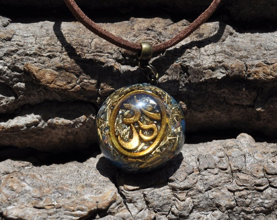 AUM Orgonite® Pendant Necklace, Unisex