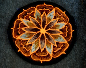 UV Blacklight Patch Embroidered Sew on Applique