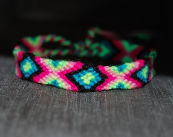 Friendship Bracelets Woven Blacklight UV
