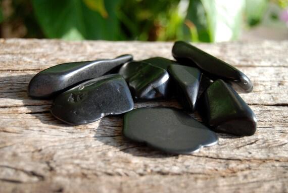 Lot of Polished Shungite Stones, Freeform, Whole set, 100 grams - 3.53 ounces
