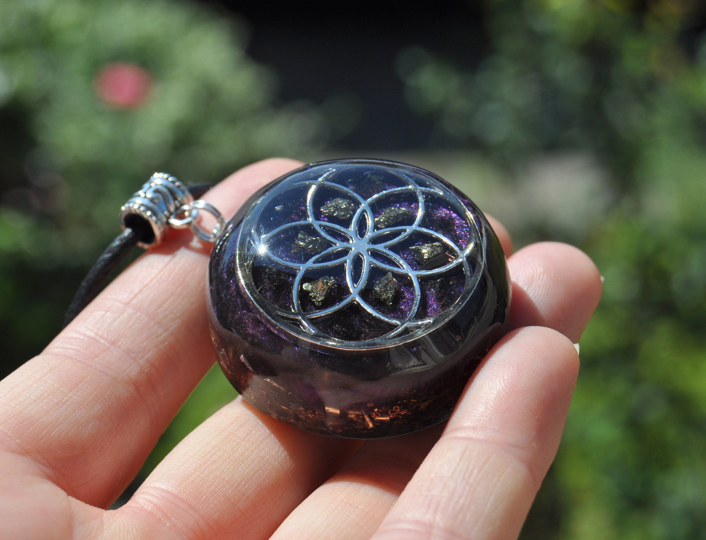 Seed of Life Orgone Pendant