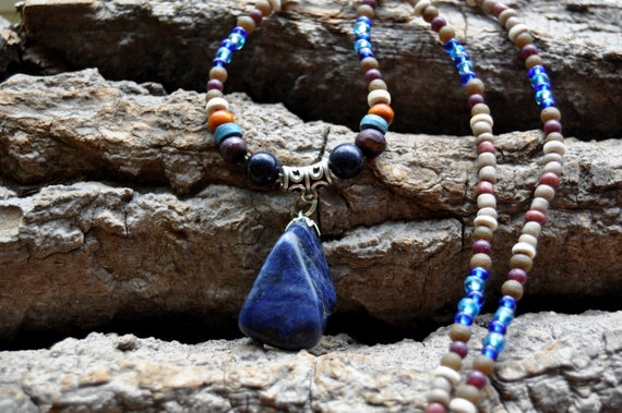 Sodalite Necklace Unisex