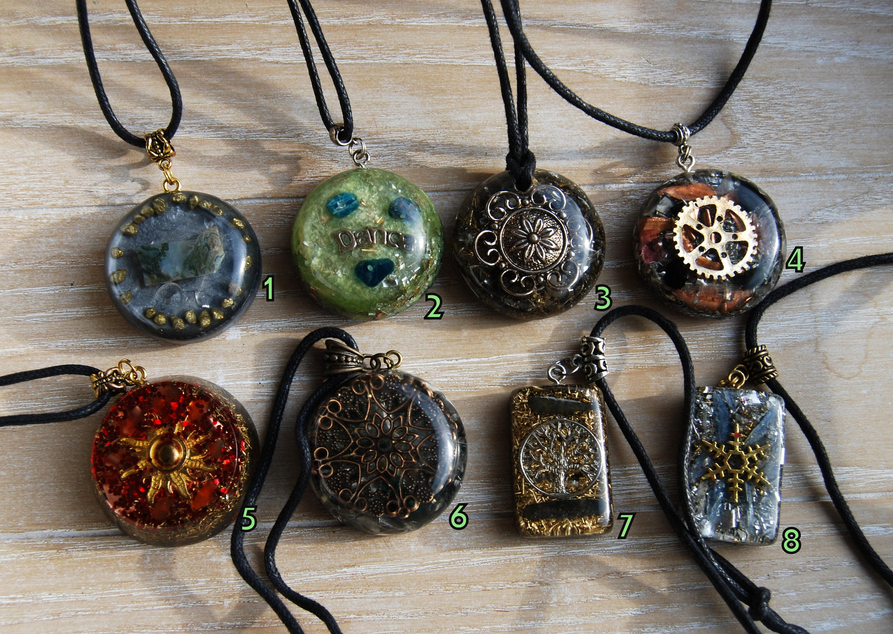 Orgonite pendants orgone pendant necklace necklaces sale gift orgonite pendants orgone pendant necklace necklaces sale gift gifting gemstones resin and lots of metals aloadofball Images