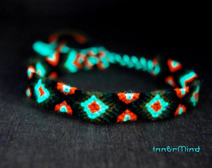 Friendship Bracelets Woven UV Blacklight Unisex Adult