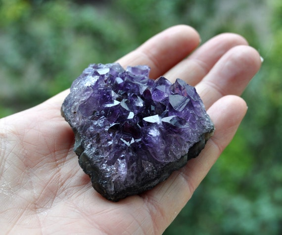 Amethyst Crystal Cluster - 81 grams - FREE Shipping !